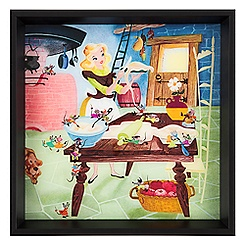 Cinderella and Friends Framed Deluxe Print