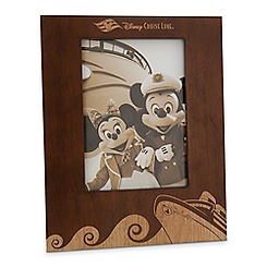 Disney Cruise Line Wood Photo Frame - 5'' x 7''