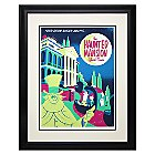Haunted Mansion ''Your Doom Buggy Awaits'' Framed Deluxe Print by David Perillo