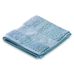 Mickey Mouse Icon Wash Cloth Set - Light Blue