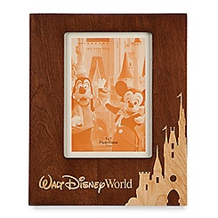 Walt Disney World Wood Photo Frame - Portrait - 5'' x 7''
