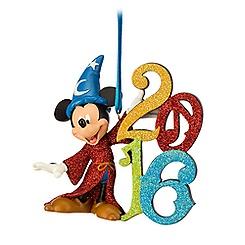 Sorcerer Mickey Mouse Figural Ornament - Walt Disney World 2016