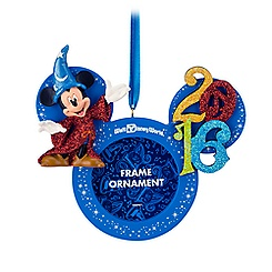 Sorcerer Mickey Mouse Frame Ornament - Walt Disney World 2016