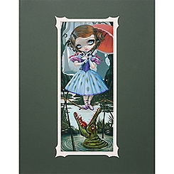 ''Tightrope Girl'' Deluxe Print by Jasmine Becket-Griffith