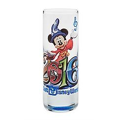 Sorcerer Mickey Mouse Mini Glass - Walt Disney World 2016