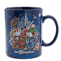 Sorcerer Mickey Mouse Jumbo Mug - Walt Disney World 2016