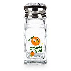 Orange Bird Salt or Pepper Shaker - Face and Logo
