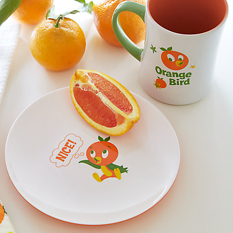 The Orange Bird Snack Plate