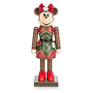 Minnie Mouse Tiki Nutcracker Figure - 12 1/2'' - Limited Release