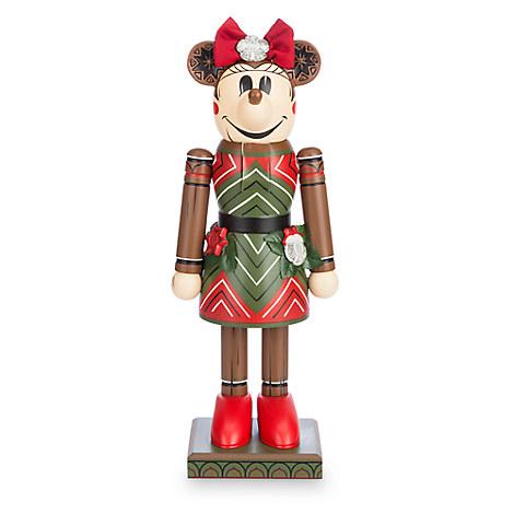 Minnie Mouse Tiki Nutcracker Figure - 12 1/2
