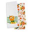 Orange Bird Kitchen Towel Set