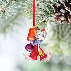 Roger Rabbit and Jessica Figural Ornament