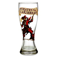 Disney Parks Attraction Poster Pilsner Glass - Pirates of the Caribbean