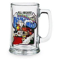 Disneyland Railroad Glass Mug