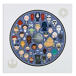 Star Wars ''Galaxy of Cute'' Deluxe Print by Jerrod Maruyama - 14'' x 14''