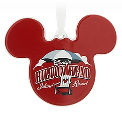 Mickey Mouse Icon Ornament - Disney's Hilton Head Island Resort