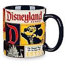 Disneyland Patchwork Mug