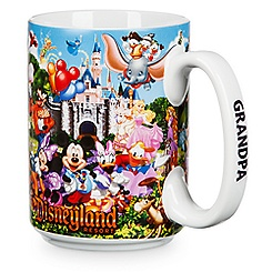 Disneyland Storybook Mug for Grandpa