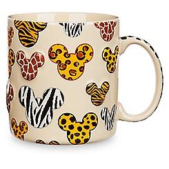 Mickey Mouse Animal Print Mug