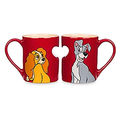 Lady and the Tramp Mug Set