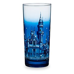 Sleeping Beauty Castle Glass - Disneyland Diamond Celebration