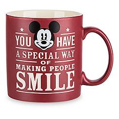 Mickey Mouse Text Mug