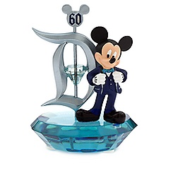 Mickey Mouse Photo Clip Frame - Disneyland Diamond Celebration