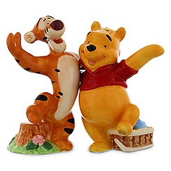 Winnie the Pooh and Tigger Salt and Pepper Shaker Set