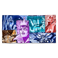 Disney Villains Beach Towel