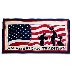 Mickey Mouse and Friends Americana Beach Towel