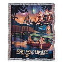 Fort Wilderness Resort and Campground Tapestry Woven Throw