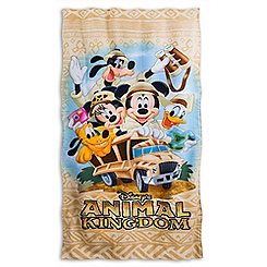 Disney's Animal Kingdom Beach Towel