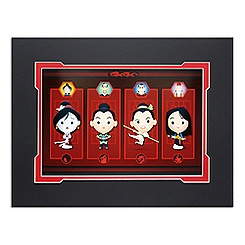 Mulan ''Honorable Daughter'' Deluxe Print by Jerrod Maruyama - 14'' x 18''