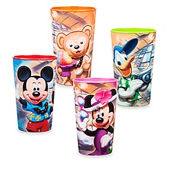 Mickey Mouse and Friends Lenticular Tumbler Set - Aulani, A Disney Resort & Spa