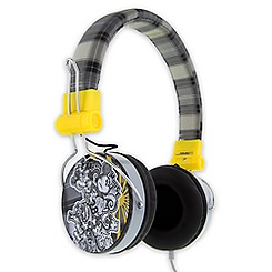 Mickey Mouse Plaid Headphones for Adults