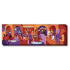 Star Wars Cantina Gicleé on Canvas by Shag - Limited Edition