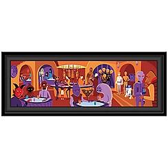 Star Wars Cantina Gicleé on Canvas by Shag - Framed - Limited Edition