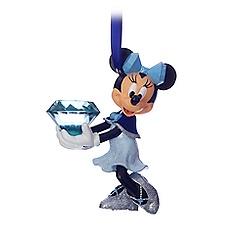 Minnie Mouse Figural Ornament - Disneyland Diamond Celebration