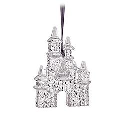 Sleeping Beauty Castle Sculptured Ornament - Disneyland Diamond Celebration