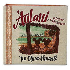 Mickey and Minnie Mouse Canvas Photo Album - Aulani, A Disney Resort & Spa