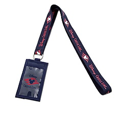 Disney Cruise Line Lanyard Wallet