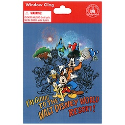 ''I'm Going to the Walt Disney World Resort!'' Window Cling
