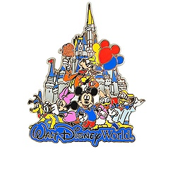 Walt Disney World Mickey Mouse and Friends Pin