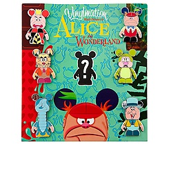 Alice in Wonderland Pin Set - 7-Pc - Vinylmation