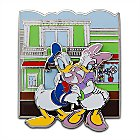 Online Exclusive Main Street Candy Palace Daisy and Donald Duck Pin