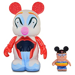 Vinylmation Park 9 Series BoardWalk Clown with Mouseketeer - 9'' & 3''