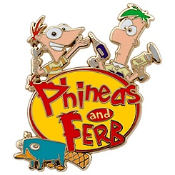 Phineas and Ferb Pin