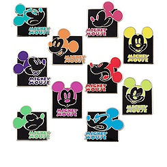 Mickey Mouse Mystery Pin Set
