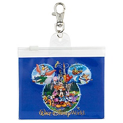 Mickey Mouse Pin Lanyard Pouch - Walt Disney World
