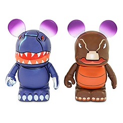 Vinylmation Fantasia Series 3'' Figure Set - Tyrannosaurus Rex and Stegosaurus